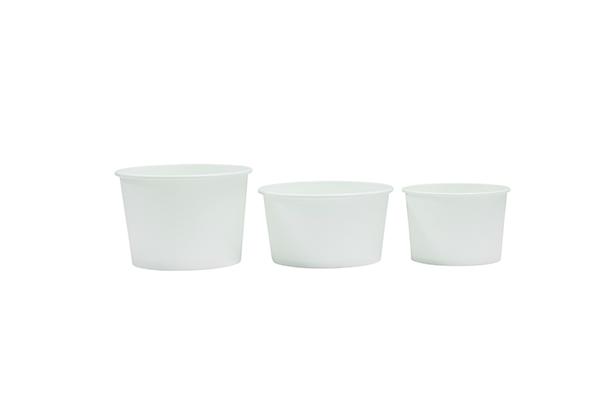 PLA-白色蔗渣汤杯